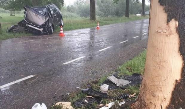 Twee gewonden bij ongeval op Lakerveld in Lexmond