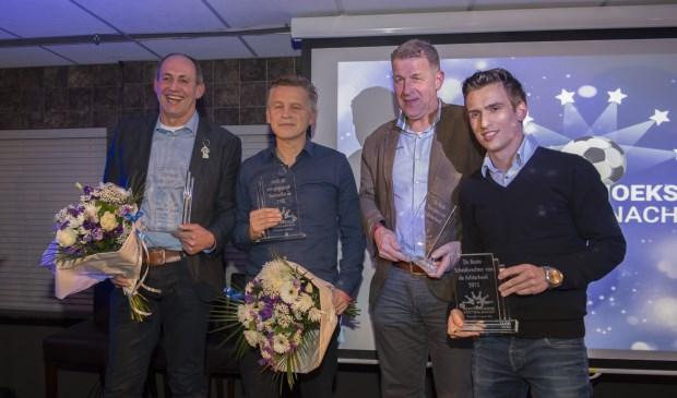 Fred Baars, Joost Marissink (MvR), Marcel Eekelder en Joost Soeter (vlnr). Foto: Achterhoekfoto.nl/Henk den Brok
