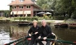 Nel Schellekens en Henk den Herder. Foto: Bernard Harfsterkamp.