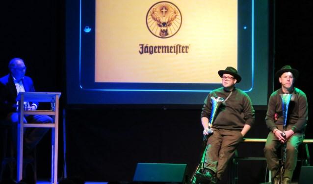 Een beeld van het optreden van Joost Frank & Martijn Gelinck. Foto: Theo Huijskes