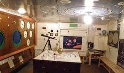 Sterrenhemel bij het Achterhoeks Planetarium. Foto: PR