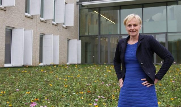 Burgemeester Marianne Besselink blijft enthousiast over de mooie gemeente Bronckhorst. Foto: Liesbeth Spaansen