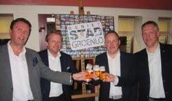 De presentatie van de Stichting Geniet Stad Groenlo begin 2014. Foto: Theo Huijskes
