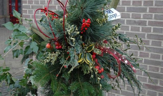 Levende kerststal en sfeervolle kerstmarkt in en om het