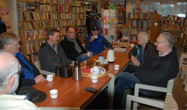Werkbezoek van de PvdA bij De Werf in Vorden. Foto: PR