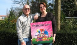 Lonneke Berendsen en Laurens Tenbergen. Foto: Bart Kraan