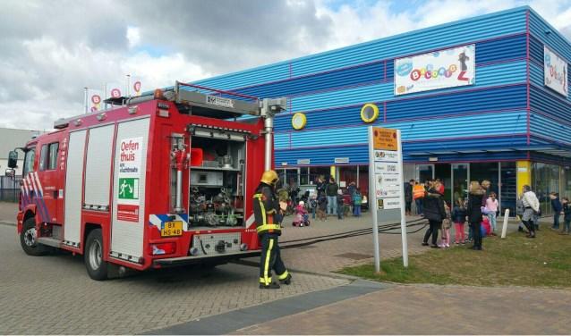 brand in kinderspeelparadijs in zutphen; pand ontruimd | contact