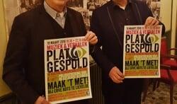 Hans Beernink (links) en Frans van Gorkum, voorvechters van Achterhoeks dialect.