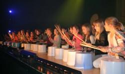 De deelnemers tijdens 'Wat een ge-emmer.' Foto: Henri Walterbos