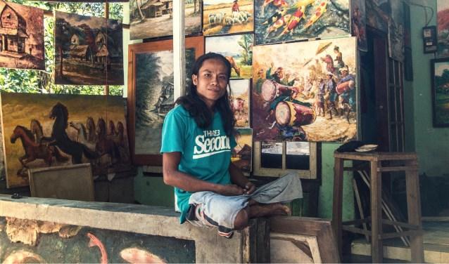 Nurlan is geholpen door Handi-Capable, een initiatief van Nick in Lombok. Foto: Nick Rensink