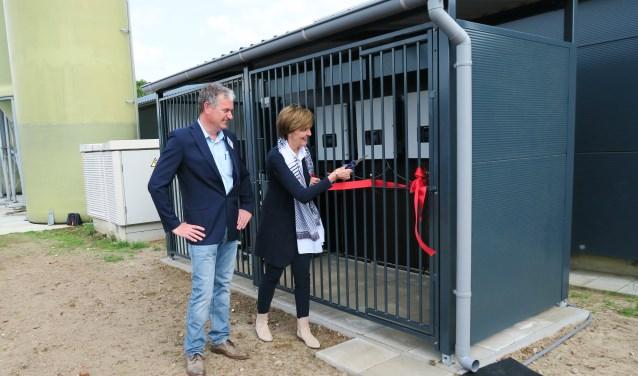 De officiële opening van 'Zonnig Zieuwent' door burgemeester Annette Bronsvoort.