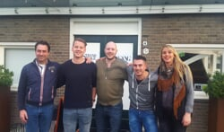 Betrokkenen Mischa van der Beek, Danny Juckers, Ferdinand Klugt, Gerben Brouwer en Samantha Putman. Foto: Bram Beckmans