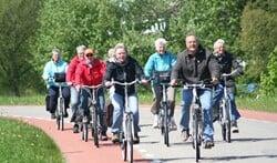 Vier dagen fietsen over mooie routes. Foto: PR