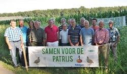 Vertegenwoordigers van alle betrokken organisaties en verenigingen. Foto: Rob Geerts.