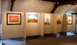 Expositie schilderijen Zelhemse molens. Foto: PR