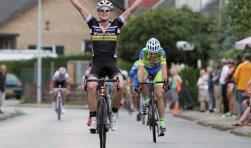 Stofwolker Atse ten Brinke zegevierde vorig jaar tijdens de Ronde van Neede. Foto: Jan Colijn