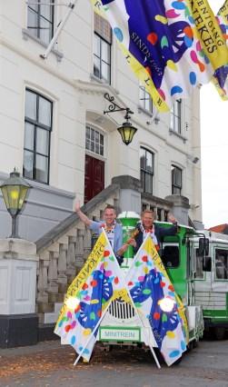 Nieuwe carnavalshoogheden in Groenlo gestrikt. Foto: PR