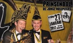 Vrijdag is het prinsenbal van de Jonge Nölepeters. Foto: PR