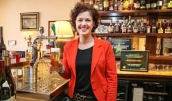 Elisabeth Remmelink - van der Schueren proost op deze overwinning. Foto: Photo republic