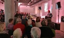 Hanneke Luessink stelde zich voor als voorzitter van stichting Kees Leussink Award. Foto: Joram van Donk