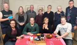 De cast van Tof Volk. Foto: PR
