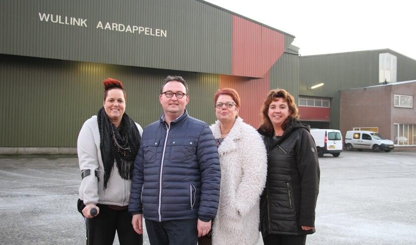 De Zwarte Markt Commissie: Inge Slotboom, Remko Offringa, Elise Wiendels en Germaine Goossens. Foto: Liesbeth Spaansen