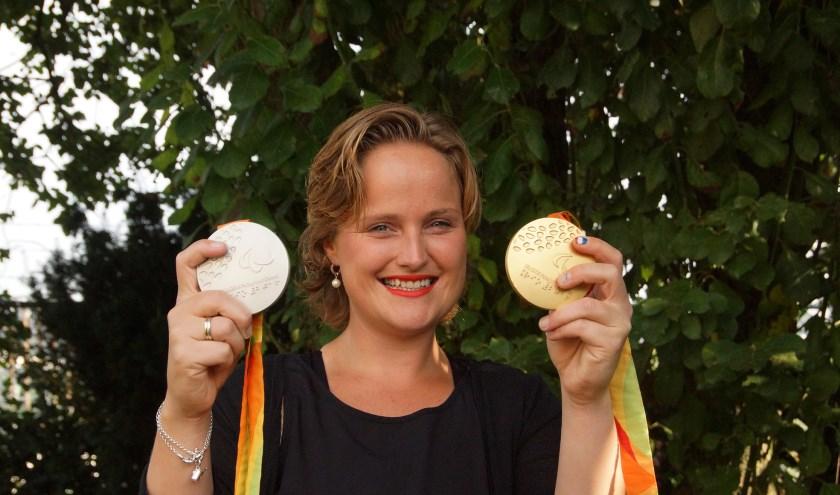 Aniek van Koot kan de dubbeltitel op het Australian open toevoegen aan haar erelijst. Foto: Frank Vinkenvleugel
