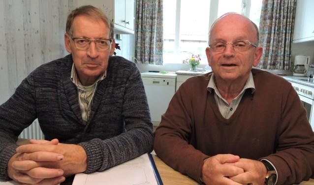 Jos Lansink (links) en Joop Beuting. Foto: Joost van de Nadort