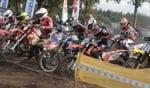 Hamove motorcrossspektakel. Foto: Henk Teerink
