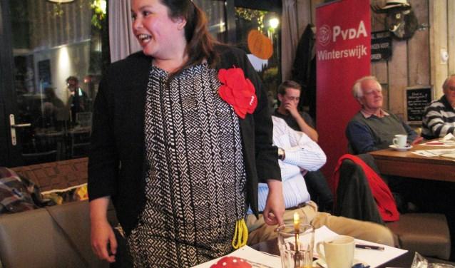 Elvira Schepers is blij dat ze lijsttrekker is geworden. Foto:  Bernhard Harfsterkamp