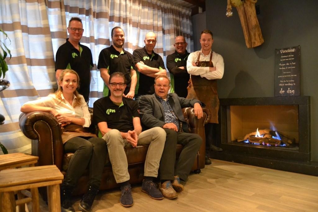 Team AFM en Wesley Hüning, Nita Koster en Martin Hüning. Foto: Karin Stronks