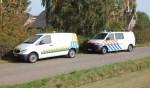 De wietplantage in Stokkum is donderdagmiddag ontmanteld. Foto: News United/112 Achterhoek-Nieuws