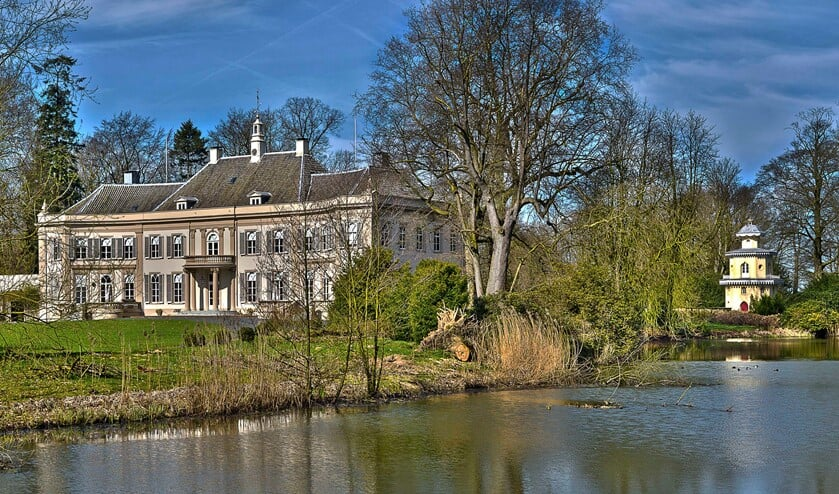 De historische buitenplaats Huis Landfort in Megchelen moet in oude luister worden hersteld. Foto: Henk van Raaij