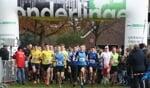 De start van de Boekeldercrosscompetitie in 2016. Foto: PR