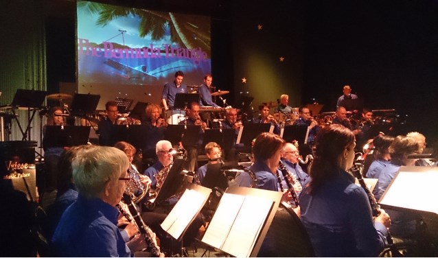 Een optreden van het A-orkest van Muziekvereniging Groenlo. Foto: PR