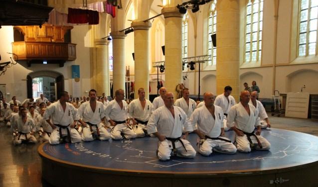 Er werd een training gegeven in de Oude Calixtuskerk. Foto: PR