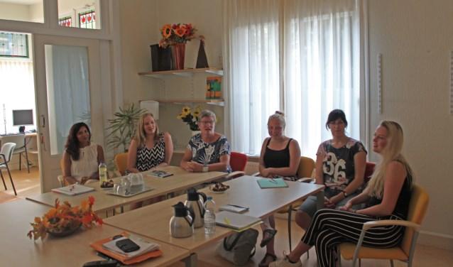 Vijf VP-leerlingen zijn begonnen met de pilot in het Wijkleercentrum van Elver en het Graafschap College. Foto: PR