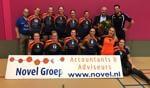 Bovo dames 1 met de sponsor. Foto: PR