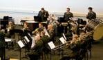 De Regimentsfanfare der Garde Grenadiers en Jagers. Foto: PR