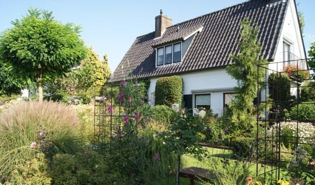 De tuin van de familie Bannink aan de Lochemseweg 6 behaalde de hoogste score. Foto: PR.