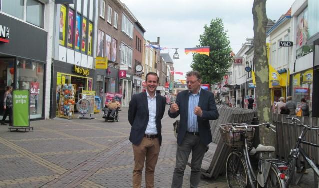 Peter Drenth (r) en Bart Teunissen. Foto: Bert Vinkenborg