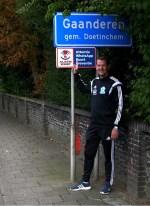 Mark Schepers, stopt na dit seizoen als trainer van VVG'25. Foto: John van der Kamp