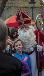 Vele kinderen gingen met Sint op de foto. Foto: Achterhoekfoto.nl/Jasper Blaauw