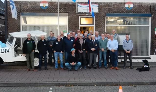 De veteranen bijeen aan de Terborgseweg. Foto: PR