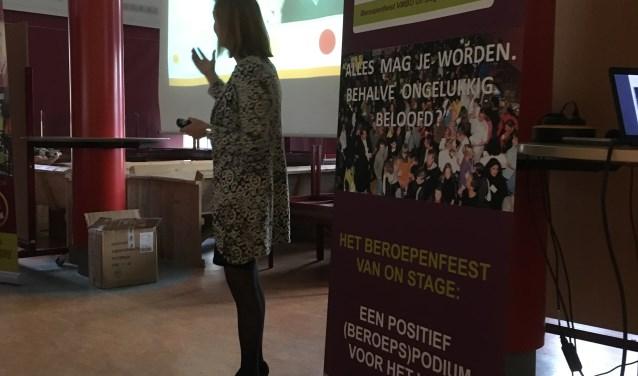 Marinka Kuijpers spreekt over het belang van LOB. Foto: PR
