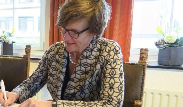 Burgemeester Annette Bronsvoort is namens Oost Gelre lid van het Algemeen Bestuur Regio Achterhoek. Foto: Theo Huijskes