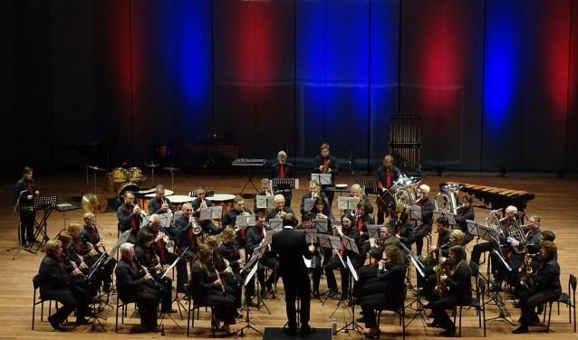 Muziekvereniging Excelsior Warnsveld tijdens het Open Nederlandse Harmonie Kampioenschappen. Foto: PR