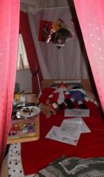 De kamer van Sinterklaas. Foto: PR