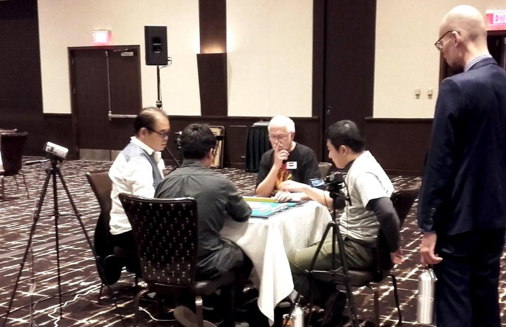 Riichi Mahjong wereldkampioenschap in Las Vegas een belevenis
