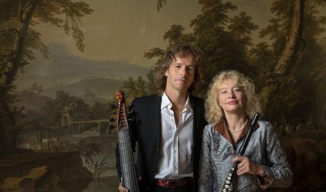 Eleonore Pameijer en Ralph Rousseau.  Foto: Bas Uterwijk